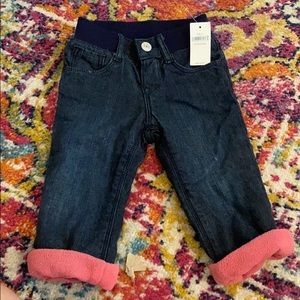 Brand new Baby Gap blue jeans